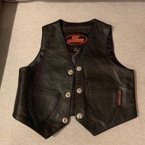 Other - Genuine leather kids vest